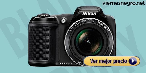 Cámaras en oferta el viernes negro: Nikon Coolpix L340