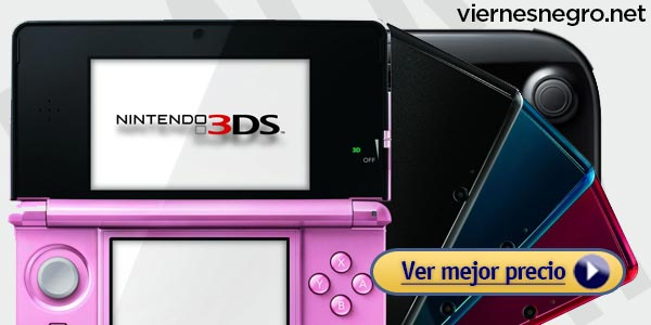 Ofertas Black Friday Nintendo 3Ds