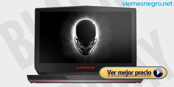 Ofertas Gaming Laptops Viernes Negro Dell Alienware 15