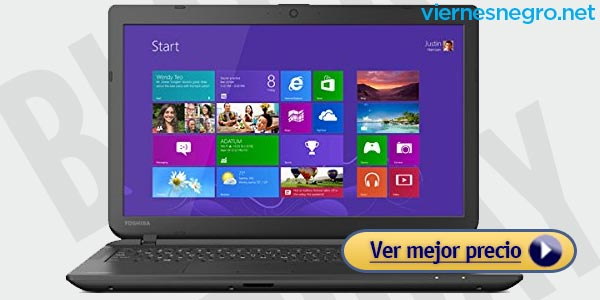 Ofertas Laptops Black Friday Toshiba AMD A8