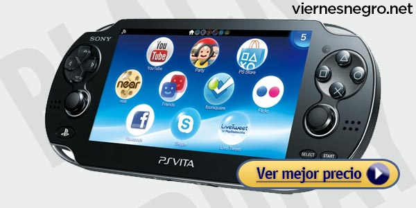 Ofertas viernes negro: PlayStation Vita