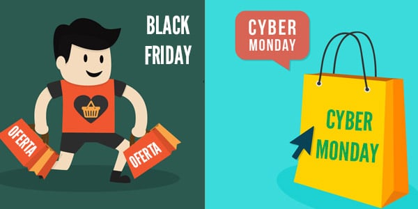 Black Friday o Cyber Monday ofertas