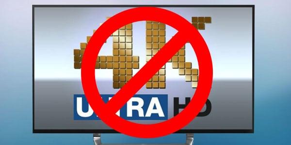 Qué NO comprar en Cyber Monday: Televisores 4K