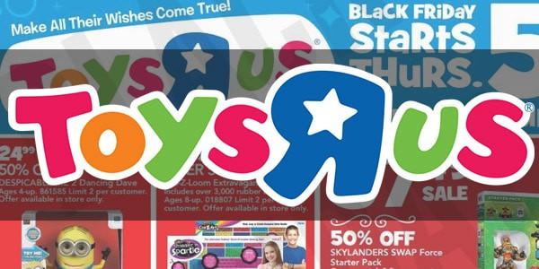 Tiendas con envío gratis viernes negro: Toys R Us