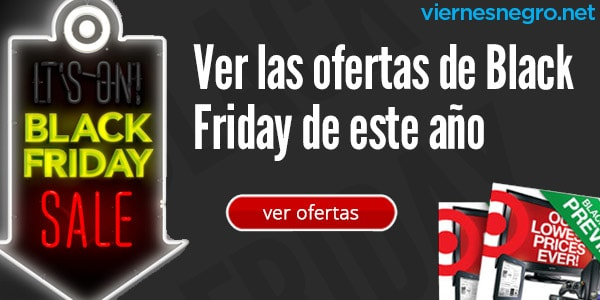 Ofertas Black Friday Viernes Negro Target