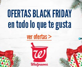 Ofertas Black Friday Walgreens Viernes Negro