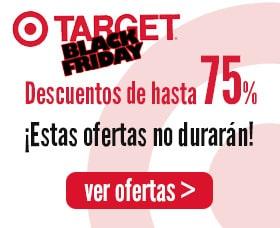 Ofertas Target Black Friday Viernes Negro